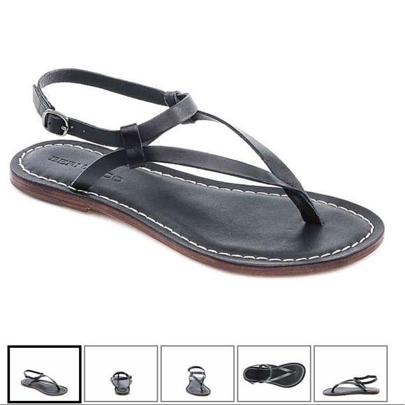 f97361b9905 Bernardo Shoes - Bernardo Merit Flat Leather Sandal